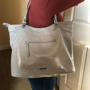 Grey Jessica Simpson Purse